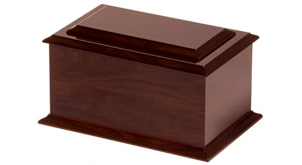 Raised Lid Rosewood